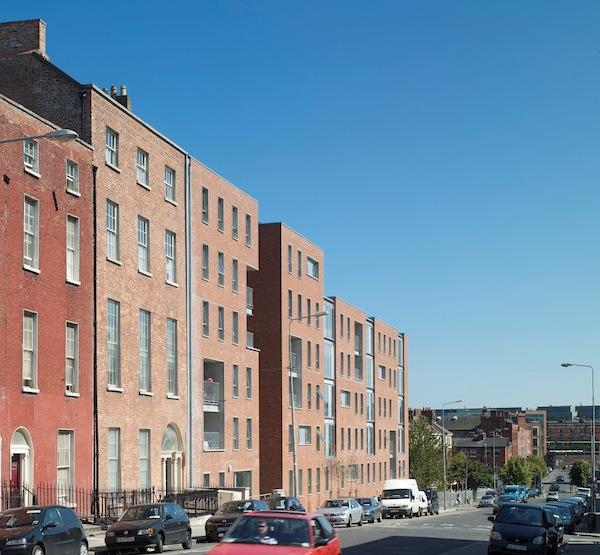 Sean Treacy House-Elevation to Buckingham Street 0004-1
